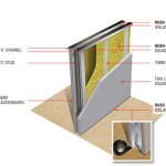 Twin metal stud wall insulation